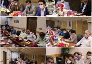 جلسه هماهنگی و تعامل مدیریت شهری لاهیجان با نیروی انتظامی برگزار شد