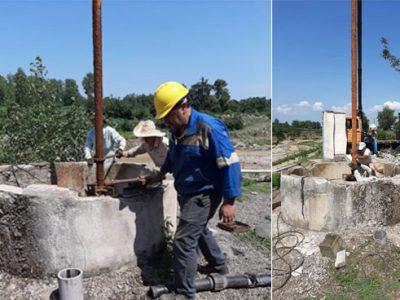 آب روستای کلرم فومن با تعویض الکتروپمپ به مدار بهره برداری بازگشت