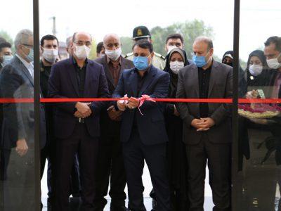 حضور فرماندار رشت در افتتاح پروژه ها به مناسبت هفته دولت