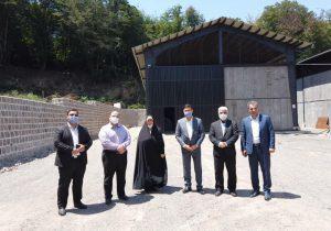 چهار عضو شورای شهر از تصفیه خانه سراوان بازدید کردند