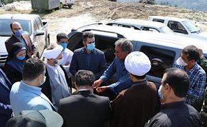 ورود رییس دادگستری گیلان برای حل مشکلات مرکز دفن زباله لنگرود