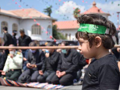 اقامه نماز با شکوه ظهر عاشورا به امامت نماینده ولی فقیه در گیلان
