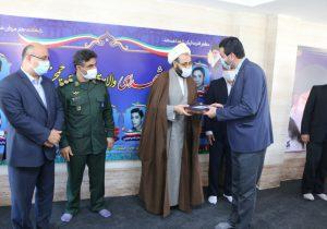 گزارش تصویری از افتتاح مزار شهدای چمخاله