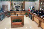 دومین جلسه بررسی پروژه های بزرگ رشت در دفتر فرماندهی قرارگاه خاتم الانبیا برگزار شد
