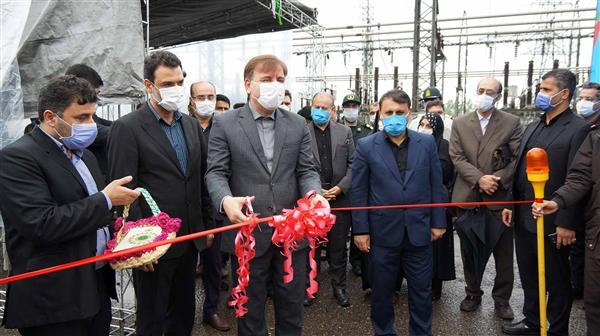 افتتاح پروژه های برق منطقه ای