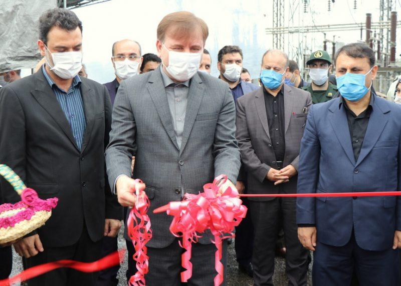 افتتاح پروژه های اولین روز از هفته دولت ، با حضور استاندار گیلان