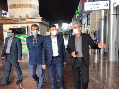دیدار شهردار رشت با مدیرکل راه آهن خراسان رضوی