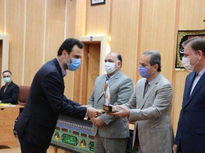 """شرکت برق منطقه ای گیلان به عنوان """"دستگاه برگزیده"""" انتخاب شد"""