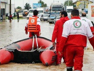 جان باختن دو نفر بر اثر جاری شدن سیل در تالش  حضور ۵ تیم امداد و نجات در منطقه