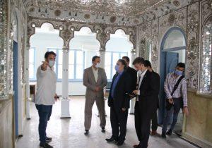 بازدید فرماندار رشت از اماکن تاریخی شهر رشت در راستای احیا و مرمت این اماکن