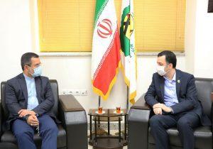 دیدار دکتر محمد اسماعیل هنرمند و نماینده مردم رشت در مجلس شورای اسلامی