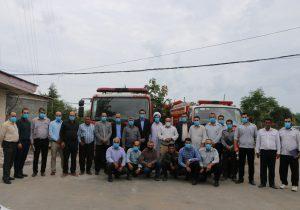 تقدیر و تشکر شهردار و اعضای شورای اسلامی شهر چاف و چمخاله از آتش نشان ها به مناسبت روز آتش نشان
