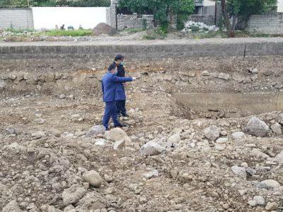 بازدید شهردار و رئیس شورای اسلامی شهر از روند پیشرفت پروژه ترمیم و بهسازی خیابان شهید چمران