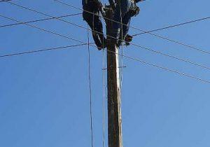 ادامه اجرای طرح جهادی افزایش تاب آوری شبکه های فشار متوسط توزیع برق گیلان