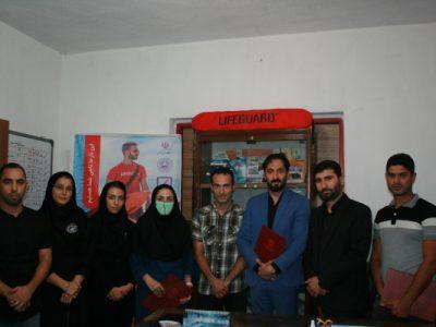 انتصاب ارکان هیات نجات غریق و غواصی استان گیلان