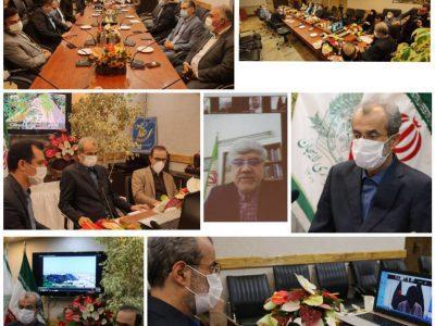 سرپرست شهرداری لاهیجان با شهردار سیلهت بنگلادش گفت و گو کرد