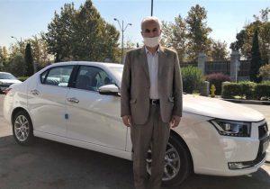 نماینده رشت خودروی دناپلاس خود را برای ساخت مدرسه اهدا کرد