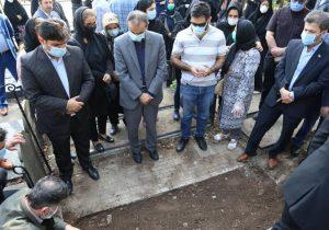 مراسم خاکسپاری پدر گرامی شهردار منتخب رشت
