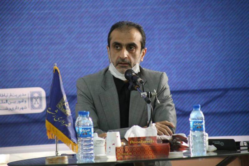 سید محمد احمدی شهردار رشت