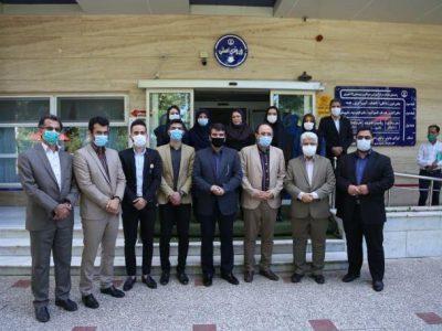 تجلیل سرپرست شهرداری رشت و عضو شورای شهر رشت از کودکان بخش خون بیمارستان هفده شهریور