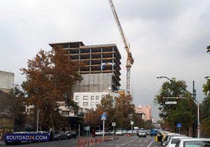 برجسازی عجیب روبروی سفارت انگلیس/ امضای شهردار تهران چند طبقه میارزد؟ +اسنا
