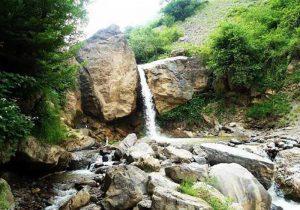 آبشار ماسوله متلاشی شد + فیلم