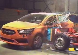 شاهین؛ ایمنترین خودروی ملی ایران/ موفقیت سایپا شاهین در تست تصادف ECE R95 اروپا (+فیلم تست تصادف)