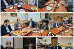 هیات رییسه روابط عمومی های گیلان با رییس شورای شهر و سرپرست شهرداری لاهیجان دیدار کردند