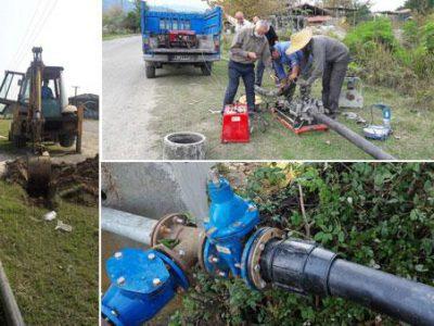 راه اندازی یک حلقه چاه به منظور تامین آب شرب روستای زیده شهرستان فومن