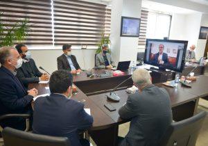 گفتگوی اینترنتی دکتر روزبهان با سفیر ایران در نروژ؛ حضور سرمایه گذاران حوزه اسکاندیناوی در منطقه آزاد انزلی توافق شد