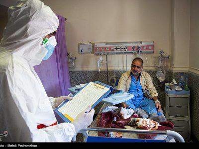 ۵۲۳ بیمار کرونایی در بیمارستانهای گیلان بستری هستند