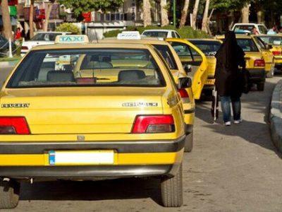 افزایش نرخ تاکسی سال جاری در کلانشهر رشت ابلاغ شد