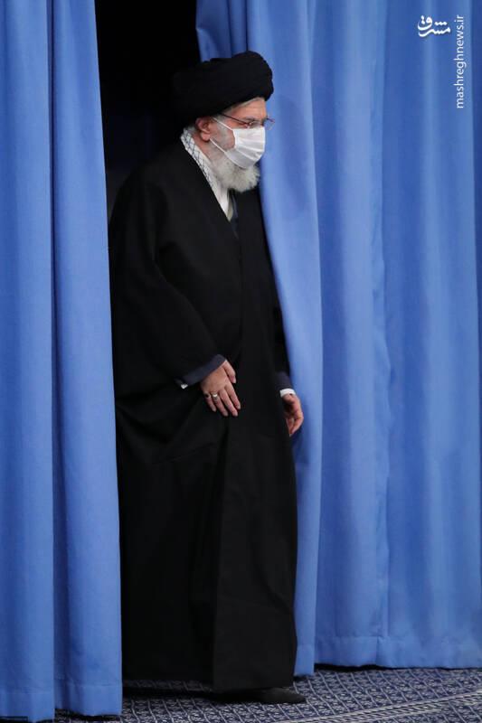 2-1 دیدار دستاندرکاران مراسم سالگرد شهید سلیمانی با رهبر انقلاب
