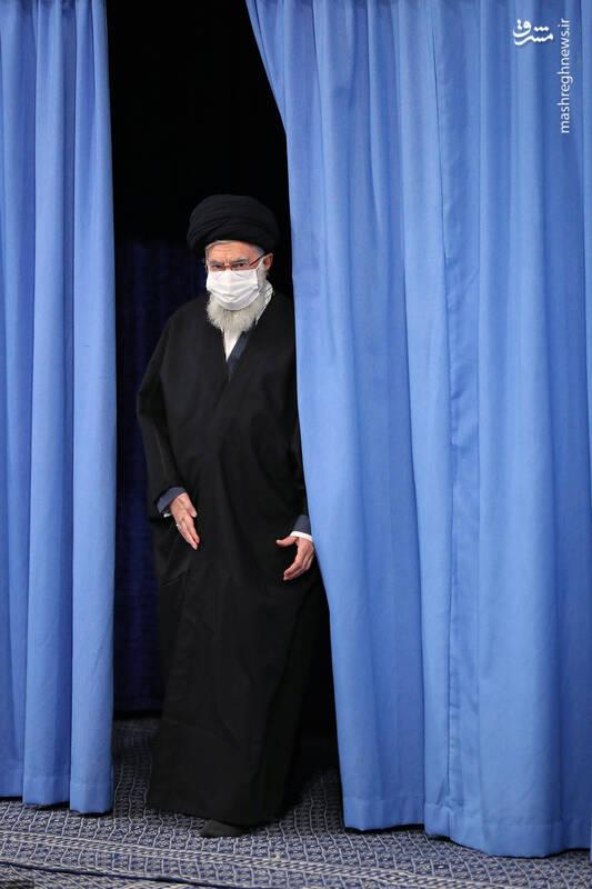 3007687 دیدار دستاندرکاران مراسم سالگرد شهید سلیمانی با رهبر انقلاب