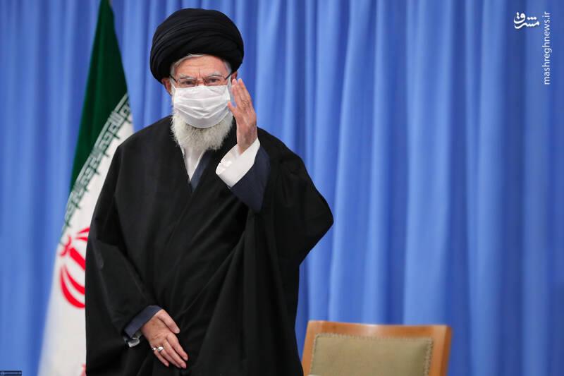 3007688 دیدار دستاندرکاران مراسم سالگرد شهید سلیمانی با رهبر انقلاب