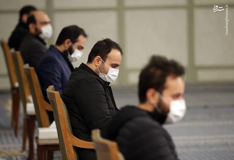 3007736 دیدار دستاندرکاران مراسم سالگرد شهید سلیمانی با رهبر انقلاب