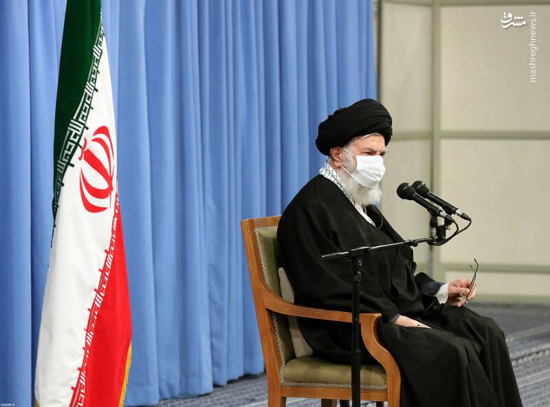3007745 دیدار دستاندرکاران مراسم سالگرد شهید سلیمانی با رهبر انقلاب