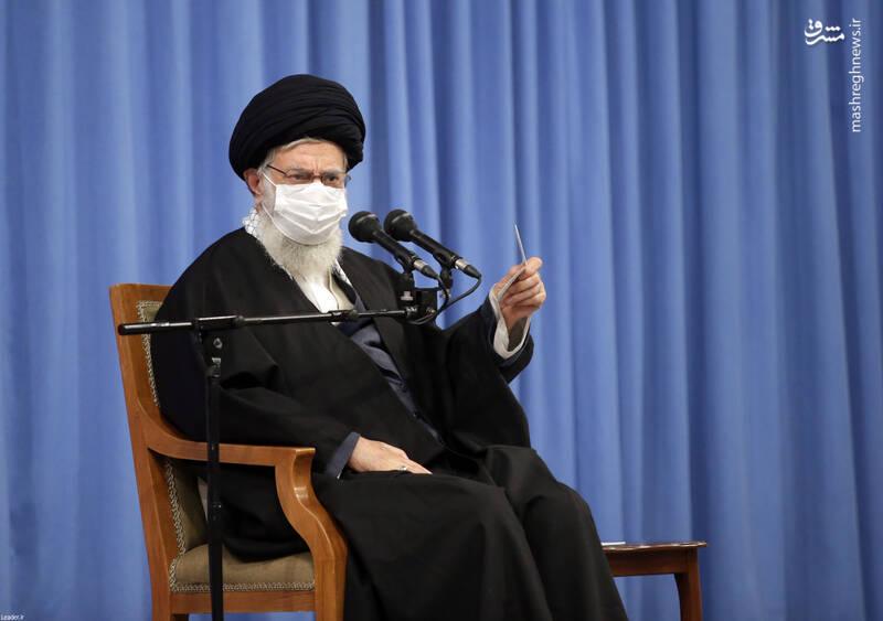 3007746 دیدار دستاندرکاران مراسم سالگرد شهید سلیمانی با رهبر انقلاب