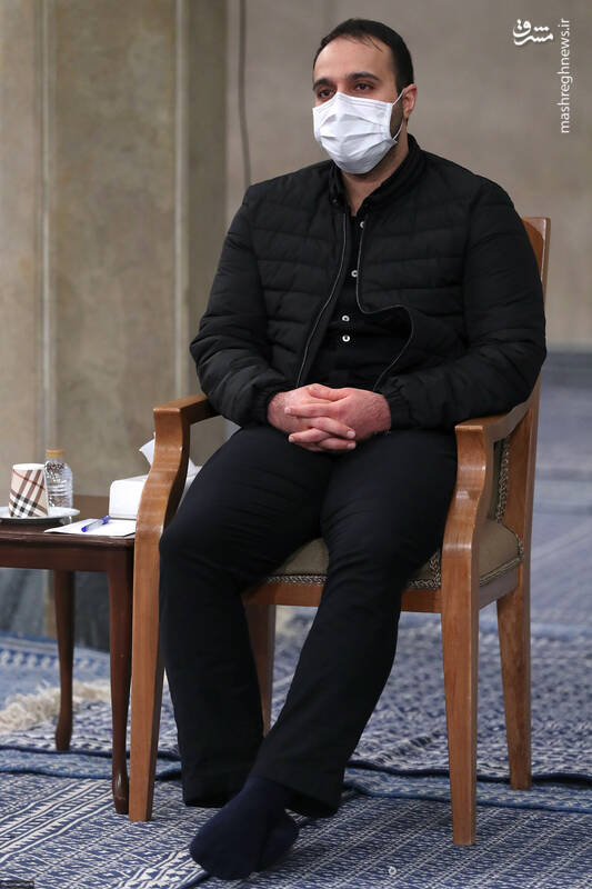 3007808 دیدار دستاندرکاران مراسم سالگرد شهید سلیمانی با رهبر انقلاب