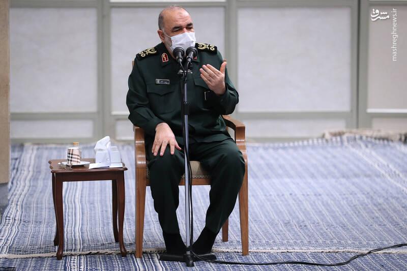 3007813 دیدار دستاندرکاران مراسم سالگرد شهید سلیمانی با رهبر انقلاب