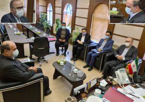 دیدار مدیرعامل شرکت آبفای گیلان با فرماندار شهرستان لنگرود