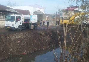 لایروبی مسیرهای انتقال آب کشاورزی در منطقه آزاد انزلی آغاز شد