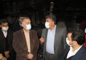 با حضور مدیرعامل سازمان منطقه آزاد انزلی بازسازی کارخانه والا فوم پرشیا آغاز شد