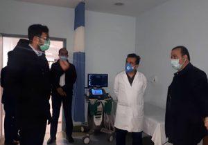 بازدید معاون توسعه مدیریت، منابع و برنامه ریزی دانشگاه علوم پزشکی گیلان از بیمارستان شهید حسین پور لنگرود