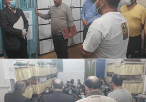 در بازدید سر زده از زندان آستارا عنوان شد,؛ تاکید بر بکارگیری ظرفیت های قضایی در استفاده از تاسیسات حقوقی مددجویان