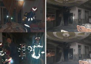 مهار آتش سوزی در آسایشگاه معلولین رشت/ ۳ تن از مددکاران دچار دودگرفتگی خفیف شدند