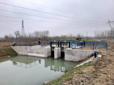 خرمی خبر داد: تکمیل بند انحراف آب کماچال در آستانه اشرفیه