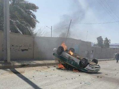 حمله معترضین به ساختمان فرمانداری سراوان | ۲ کشته در حوادث دوشنبه
