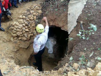 مرگ یک حفار غیرمجاز در دیلمان گیلان به علت ریزش خاک و آوار