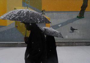 آغاز بارش برف و باران در گیلان/کدام مناطق گیلان فردا برفی است؟